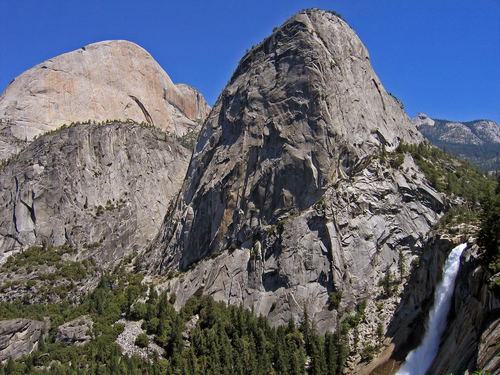 Nevada Falls and Valley view, Yosemite