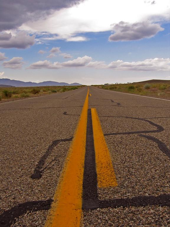 Entering Death Valley, CA
