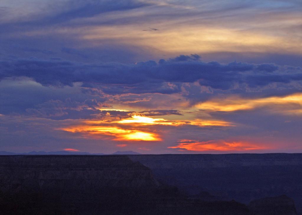 Sunset Grand Canyon, AZ