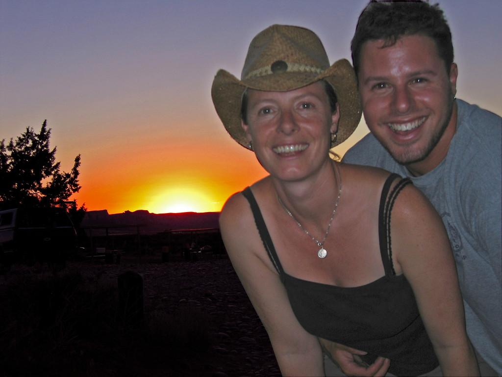 Tough shot, Monument Valley sunset, UT