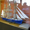 Model built by William Smith, Bosn on USS Mississippi