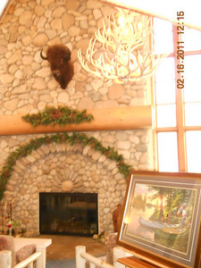 Lobby fireplace.... there will be a business center to the left after the remodel in 2011