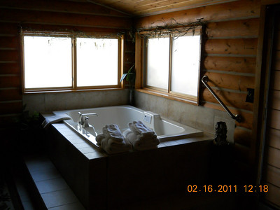 Stoney cabin Jaccuzi