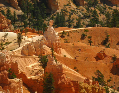 walking tour, Bryce Canyon, Utah