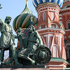 Kuzma Minin and Prince Dmitry Pozharskiy, Red Square, Moscow<br /> <br /> The statue commemorates Prince Dmitry Pozharsky and Kuzma Minin, who gathered an all-Russian volunteer army and expelled the forces of the Polish-Lithuanian Commonwealth from Moscow, thus putting an end to the Time of Troubles in 1612.