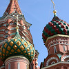 Saint Basil's Cathedral (or Pokrovsky Cathedral), Red Square, Moscow<br /> <br /> St. Basil's marks the geometric center of Moscow. It was erected on Czar Ivan the Terrible's order in 1555-1561 to commemorate the taking of Kazan and the conquest of the Astrakhan Khanate. It has been the hub of the city's growth since the 14th century and was the city's tallest building until the completion of the Ivan the Great Bell Tower in 1600.