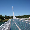 Sundial Bridge, designed by Santiago Calatrava. Redding, CA