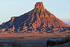 Factory Butte at sunrise