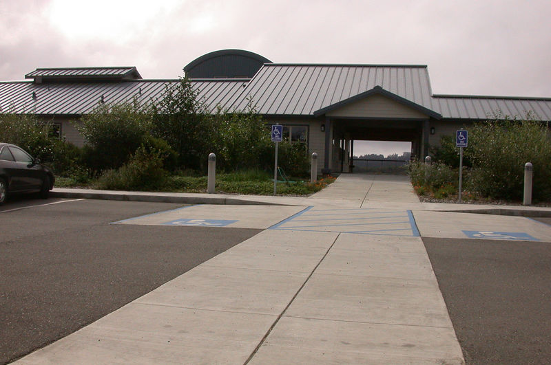 Visitor Center for the Humboldt Bay National Wildlife Refuge
