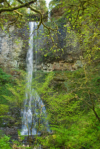 Double Falls, Silver Falls State Park
