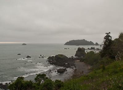 California coast at Trinidad