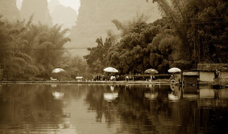 Reflections - Umbrellas Yangzhou