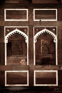 agra - red fort - details