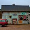 Eggleston-inspired scene in the Swedish country-side
