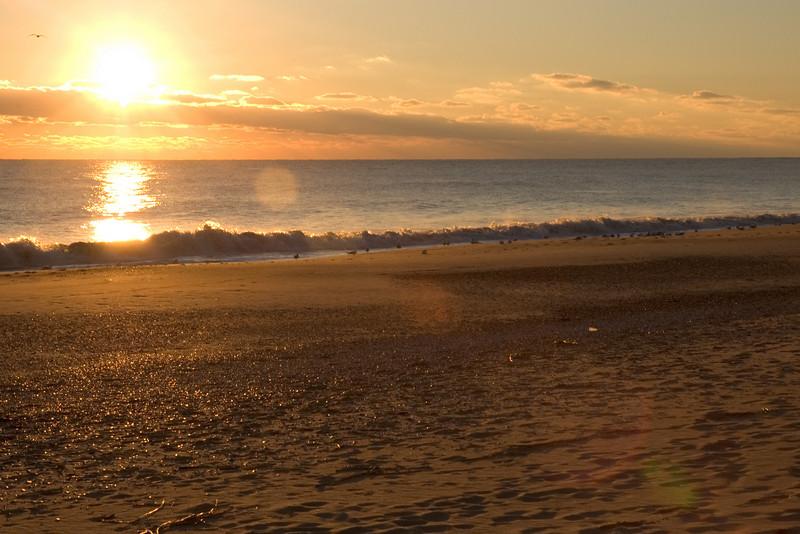 Sunrise Rehoboth beach
