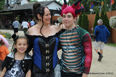 Ren Faire in the Rain 2012
