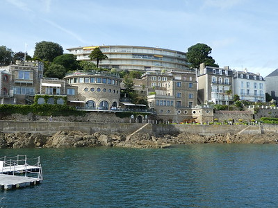 On the St Malo and Dinard for the Staff meeting