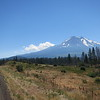 Looking back at Mt. Shasta.