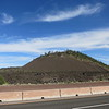 Lava Butte, a cinder cone formed in an eruption 7000 years ago.