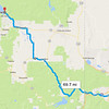 I arrived in Reno on Saturday, July 15 and started riding my bike.