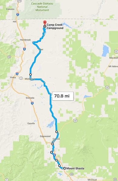 Thursday, July 20: I was finally back on my originally planned route, using quiet, scenic back roads.