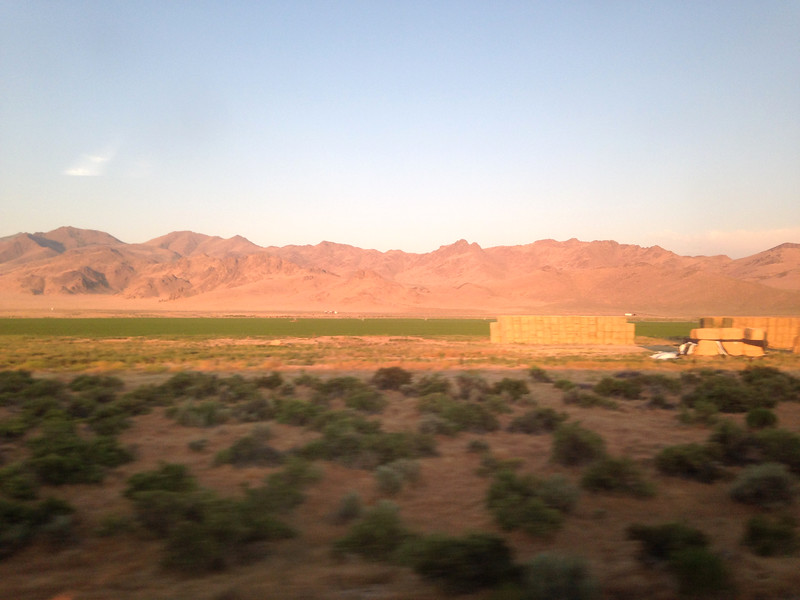 Eastern Utah as sunset approached.