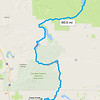 Friday, July 21: I'd mapped out an adventurous route from California into Oregon.
