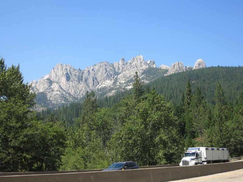 The Castle Crags.