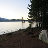 My campsite on Lake Almanor.