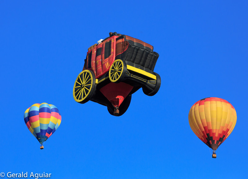Wells Fargo hot air balloon