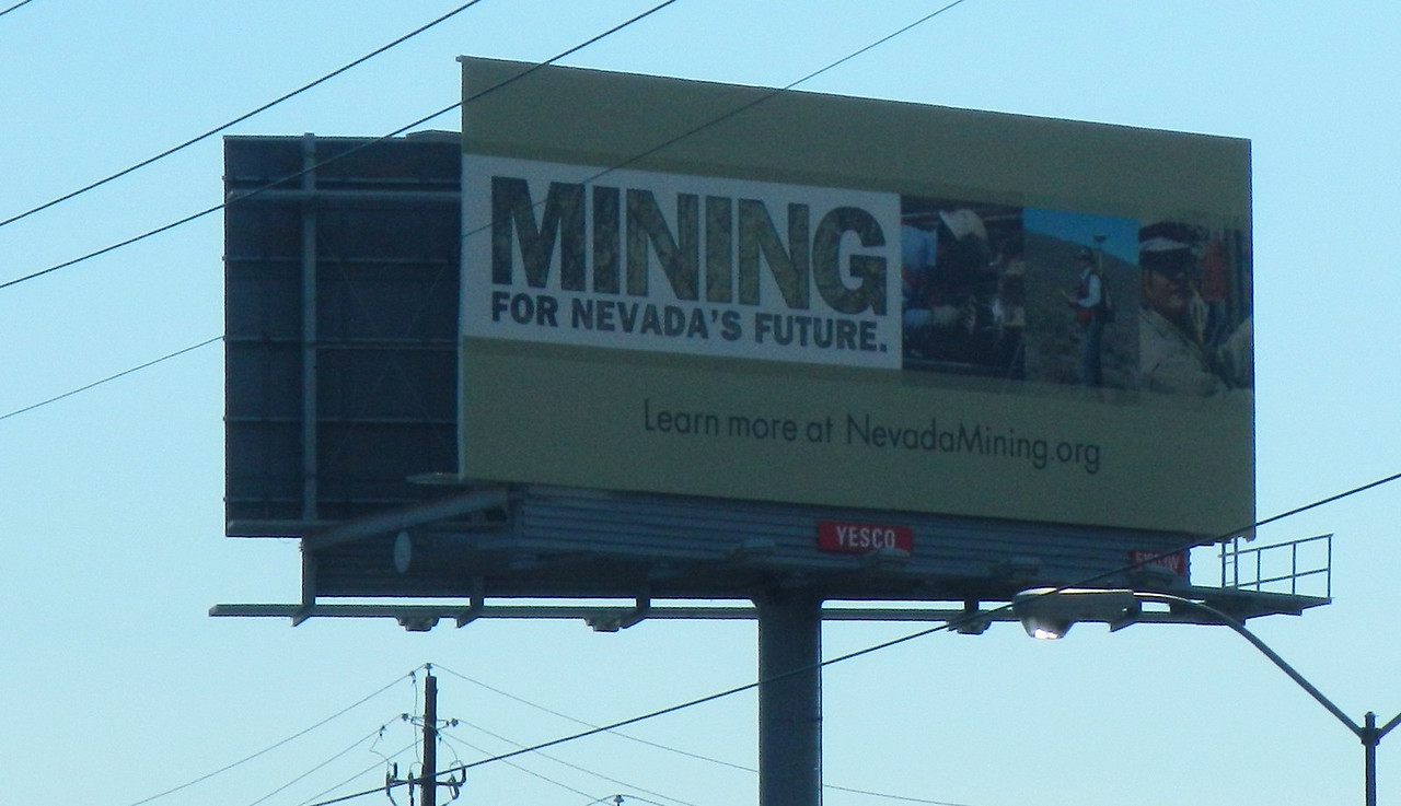 Mining is good for Nevada.