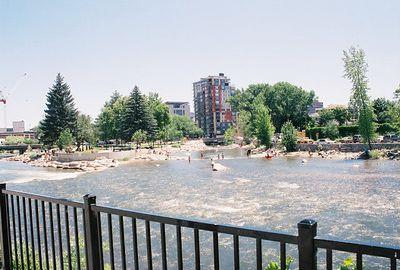 7/2/05 Riverside Park (First & Stevenson Streets), Truckee River, Reno, NV