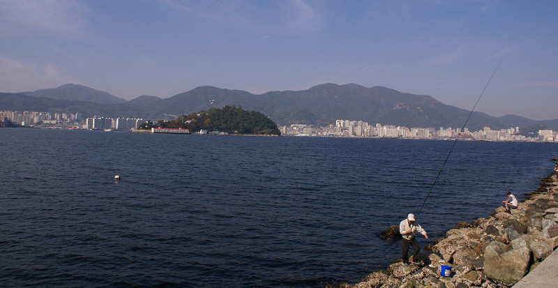 Masan City and Bay