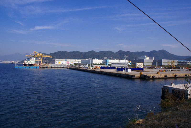 Dock at Dossan Heavy Industries' Changwon Works