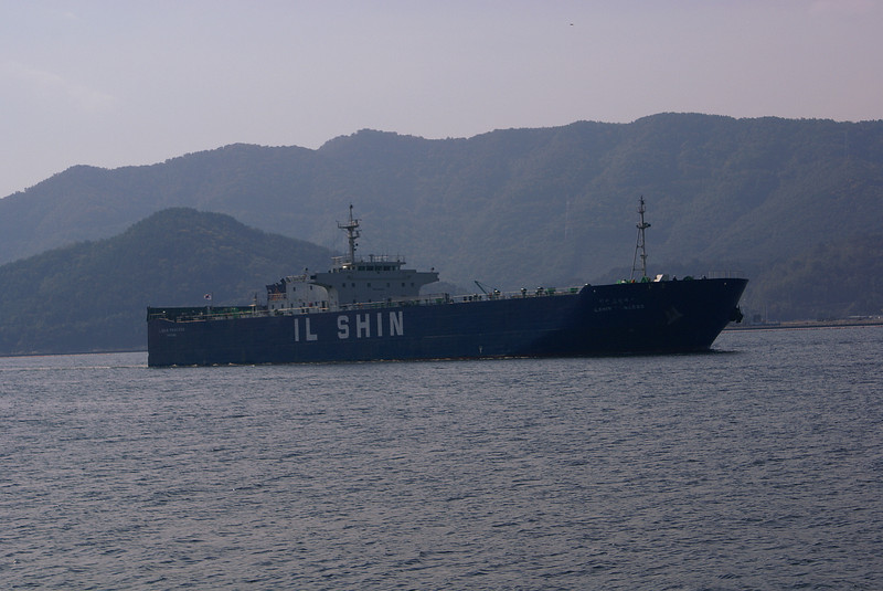 RoRo vessel Ilshin Princess inbound to Changwon