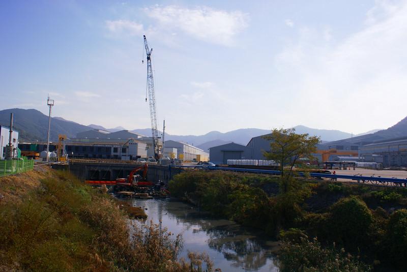 First view of Doosan Heavy Industries' huge Changwon works