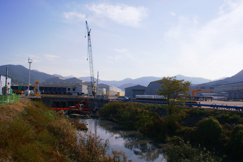 First view of Doosan Heavy Industries' huge Changwon works