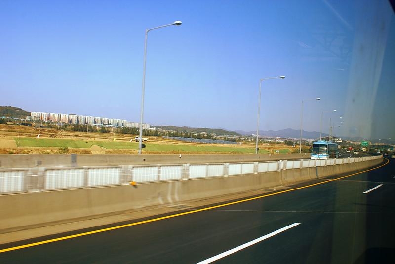On the Incheon highway