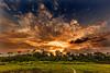 Sunset Over Lango Camp