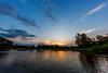 Sunset Over Lekoli River
