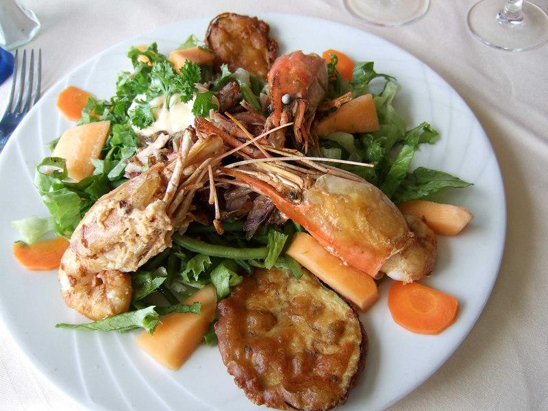 Lunch at Coté Sud.