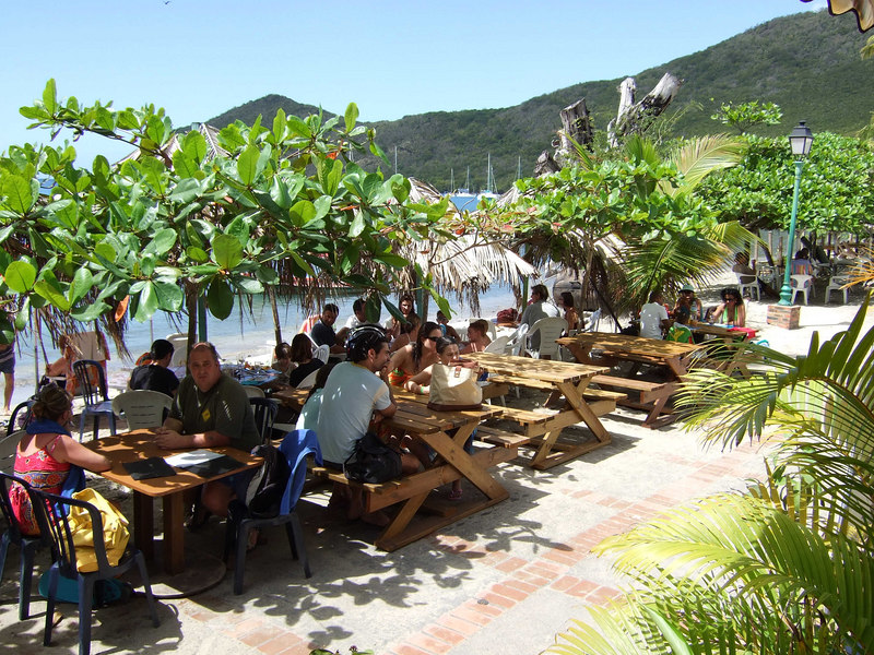 A view from Club Havana in Grande Anse d'Arlet