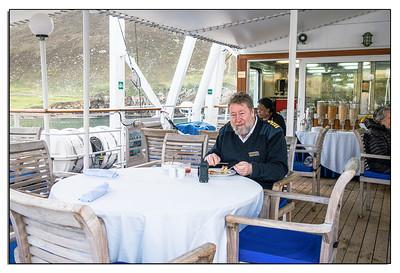The Captain's breakfast