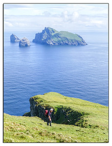 Some of the highest sea cliffs in Britain are found in the St Kilda range of islands.
