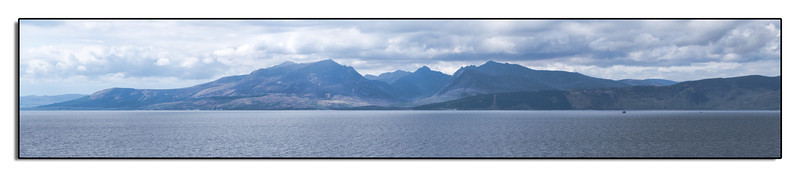 The Isle of Arran from the Isle of Bute