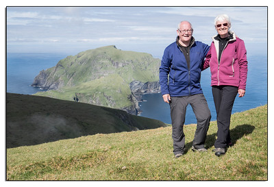 Very proud to have climbed this peak - Conachair on St Kilda. It is dangerous in cloud and there are no paths.