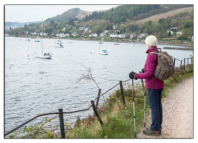 Tighnabruaich Bay - Ken's family holiday location.