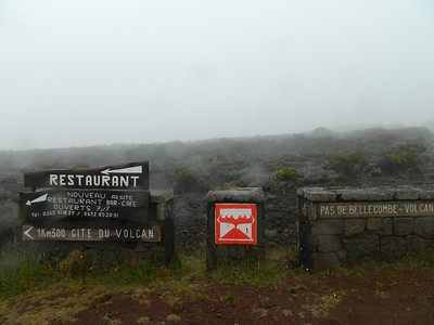 First stop on Tuesday - Piton de la Fournaise.