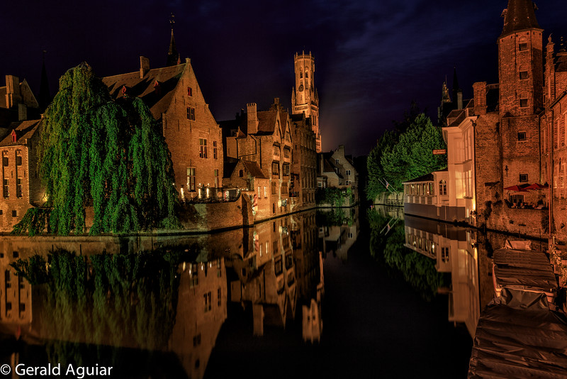 Bell Tower Reflection