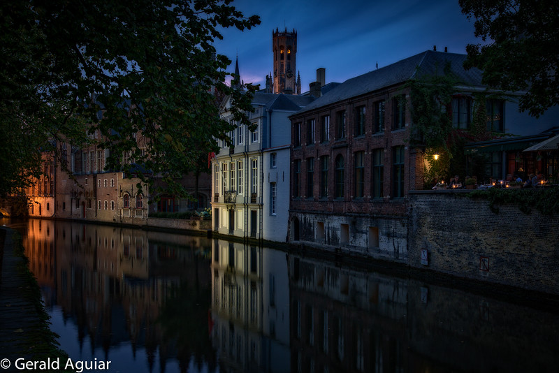 Evening Canal Reflections